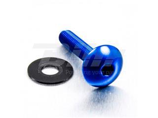 Parafuso de alumínio Pro-bolt cabeça redonda M6 x (1.00mm) x 30mm azul LFB630B