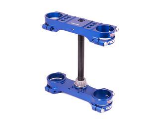 Té de fourche XTRIG Rocs Offset Ø22mm bleu Husqvarna TC50