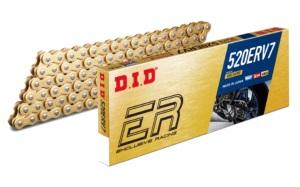 D.I.D 520 ERV7 Ketting Goud/Goud 126 Schakels