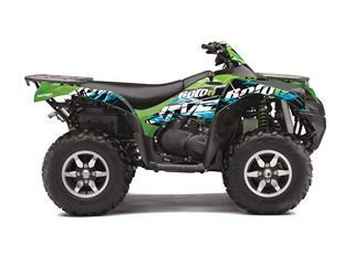 Kit déco KUTVEK Rotor vert Kawasaki KVF750 - 78104501