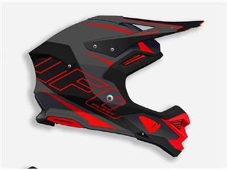 UFO Diamond Helmet Matt Black/Red Size M - caa24687-a264-4972-9662-2e6b2c48f960