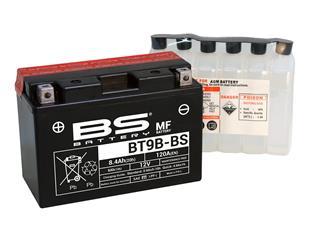 BS BATTERY Batterien BT9B-BS wartungsfrei mit säurepack geliefert