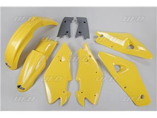 Kit plastique UFO couleur origine jaune/gris Husqvarna CR125/250 - 78640200