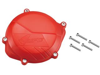 UFO Red Clutch Cover Protection Honda CRF450R
