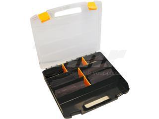 Maleta de 119 manguitos de tubo termorretráctil  Ø3,2mm 10cm negro