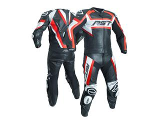 Veste RST Tractech Evo R CE cuir rouge fluo taille M homme - cae25c8e-1bc7-4675-b80d-7b4f71e3b6b2
