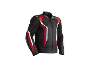 Blouson RST Axis CE cuir rouge taille M homme