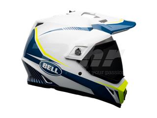 Casco Bell MX-9 Adventure Mips Torch Blanco/Azul/Amarillo Talla XS