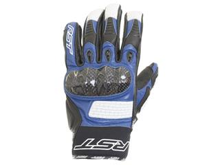 RST Freestyle CE Gloves Leather Blue Size S/08 Men