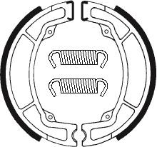 Machoires de frein TECNIUM BA049 organique