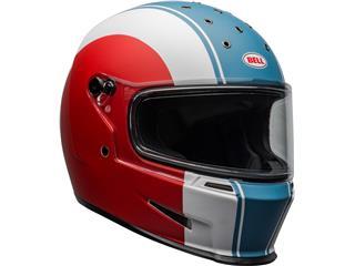 Casque BELL Eliminator Slayer Matte White/Red/Blue taille M - cb80eceb-8f4c-4384-8eaf-a4151d112153