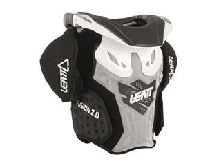 LEATT Fusion 2.0 Full Protective Jacket Junior White/Black Size L/XL