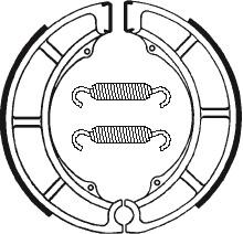Machoires de frein TECNIUM BA097 organique