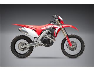 YOSHIMURA RS-4 Enduro Series Full Exhaust System Stainless Steel/Alu Muffler/Carbon End Cap Honda CRF450X