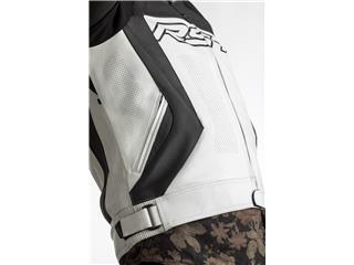 RST Tractech EVO 4 CE Race Suit Leather White Size XL Men - cc1ec3de-7c44-4021-bf8c-09891e66510c