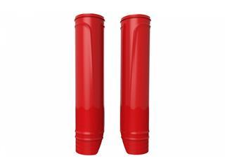 Protections de fourche POLISPORT rouge 228 à 252mm - 786634RD