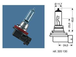 BOITE 10 AMPOULES 12V-55W / PROJECTEURS CULOT PGJ19-2