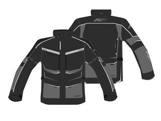 Veste RST Maverick CE textile noir/fluo taille 2XL homme - 814000492372