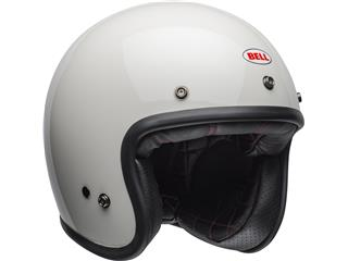 Casque BELL Custom 500 DLX Solid Vintage White taille XL - cca6261c-d48b-49a3-99d9-aa5177ef9c41