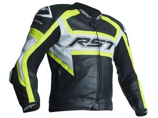 Veste RST Tractech Evo R CE cuir jaune fluo taille XL homme