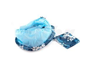 Cesto Lotus Poliéster azul - ccbfb136-96ec-428c-99e0-9b26813d4a6a