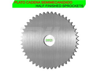 Corona semielaborada Paso 520 con 41 dientes