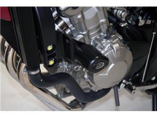 Tampons de protection R&G RACING Aero noir Honda CB600N/F Hornet