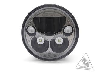 DENALI M5 LED Headlight Ø145mm Black Chrome - 63100018