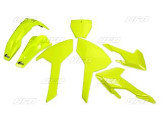 Ouïes de radiateur UFO jaune fluo Honda CRF450R - 78103782
