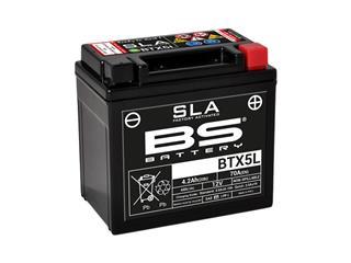 Batterie BS BATTERY BTX5L SLA sans entretien activée usine - 321075