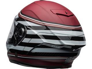 BELL Race Star Flex DLX Helmet RSD The Zone Matte/Gloss White/Candy Red Size M - cddc7d23-d4bb-45a7-a512-05e5b41380d5