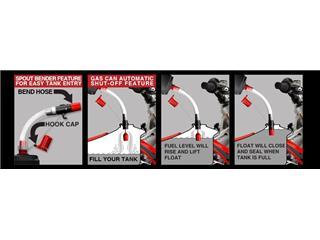 Tuyau anti-retour RISK RACING Flow control pour remplissage essence - ce1d511d-be7e-40c5-a819-4316b11cd28f