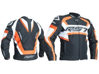 RST TracTech Evo R Jacket CE Textile Flo Red Size XL - ce4dd9a4-b20f-4b0b-a55b-dd527c989b01