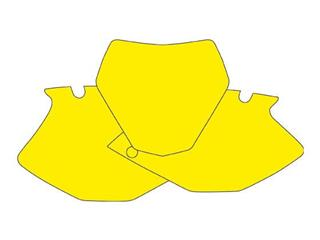 Fonds de plaque BLACKBIRD jaune Yamaha YZF450 - 7842204