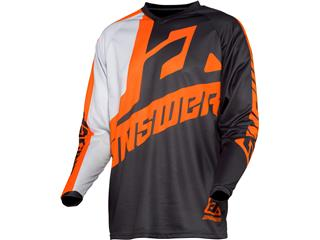 ANSWER Syncron Voyd Jersey Charcoal/Gray/Orange Size XS