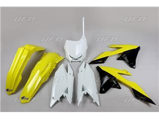 Kit plastique UFO couleur origine (2018) Suzuki RM-Z450 - 78345799