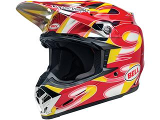 BELL Moto-9 Mips Helmet McGrath Replica Gloss Red/Yellow/Chrome Size XXL