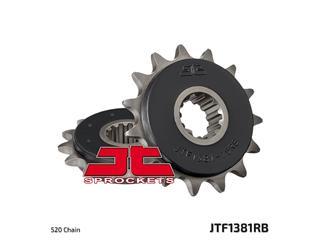 JT SPROCKET Front Sprocket 15 Teeth Steel Noise-Free 520 Pitch Type 1381RB