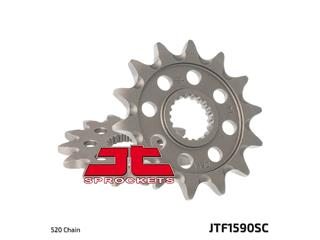 JT SPROCKETS Front Sprocket 14 Teeth Steel Self-Cleaning 520 Pitch Type 1590SC Yamaha YZ250F