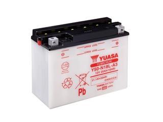 Batterie YUASA Y50-N18L-A3 conventionnelle