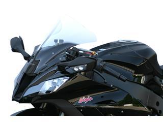 Windschutzscheibe MRA RACING schwarz fürKAWASAKI ZX10R '11-12