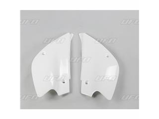 Plaques latérales UFO blanc Kawasaki KX80/85 - 78227312