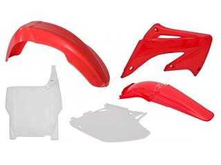 RACETECH Plastic Kit OEM Color Red/White Honda CR125R/250R