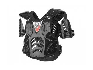 POLISPORT XP2 Chest Protector Black Silver One Size Adult