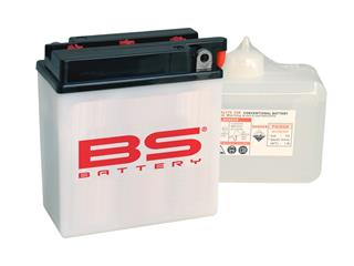Batterie BS BATTERY BB7L-B2 conventionnelle livrée avec pack acide