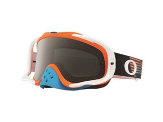 Masque OAKLEY Crowbar MX Circuit Orange/Blue écran Dark Grey