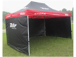 BIHR Home Track Paddock Canopy 4.5x3m with removable side panels - 980241