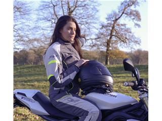 RST Ladies Gemma Jacket Textile Grey/Flo Yellow Size XL Women - d0917c14-0df2-43c4-b6c7-0b2dc43e4a30
