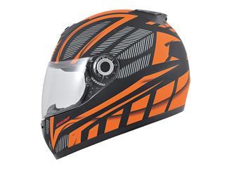 BOOST B530 Helmet Ultra Black/Orange Matte Size S