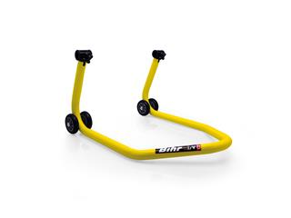 Bihr by LV8 yellow universal rear stand - Comes without supports - 89105019